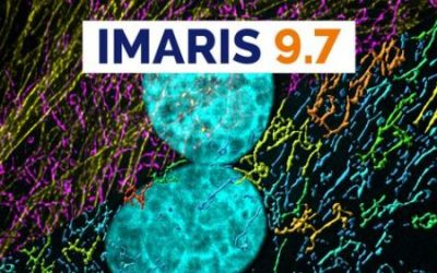 Imaris 9.7 software package for image processing soon available at CoB